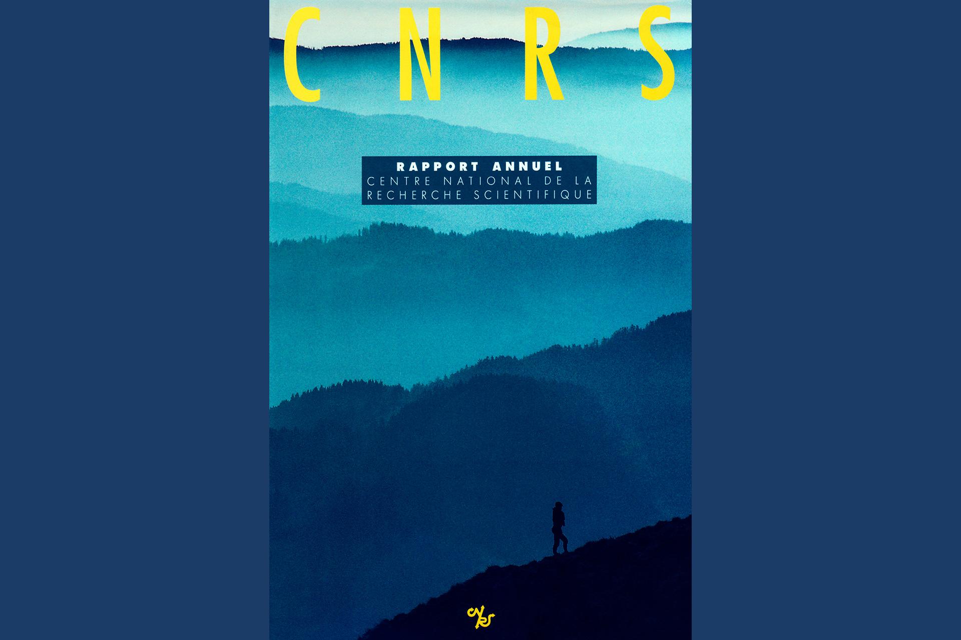Rapport Annuel CNRS. Photos en pages intérieures, commande production.